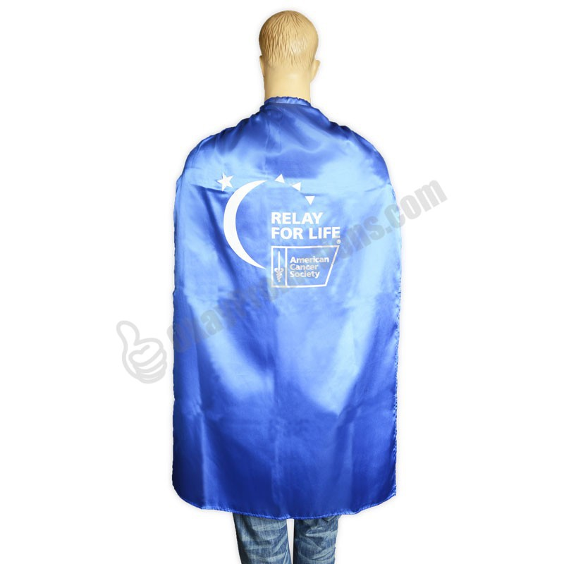 Adult Custom Logo Marketing Promotional Superhero Capes